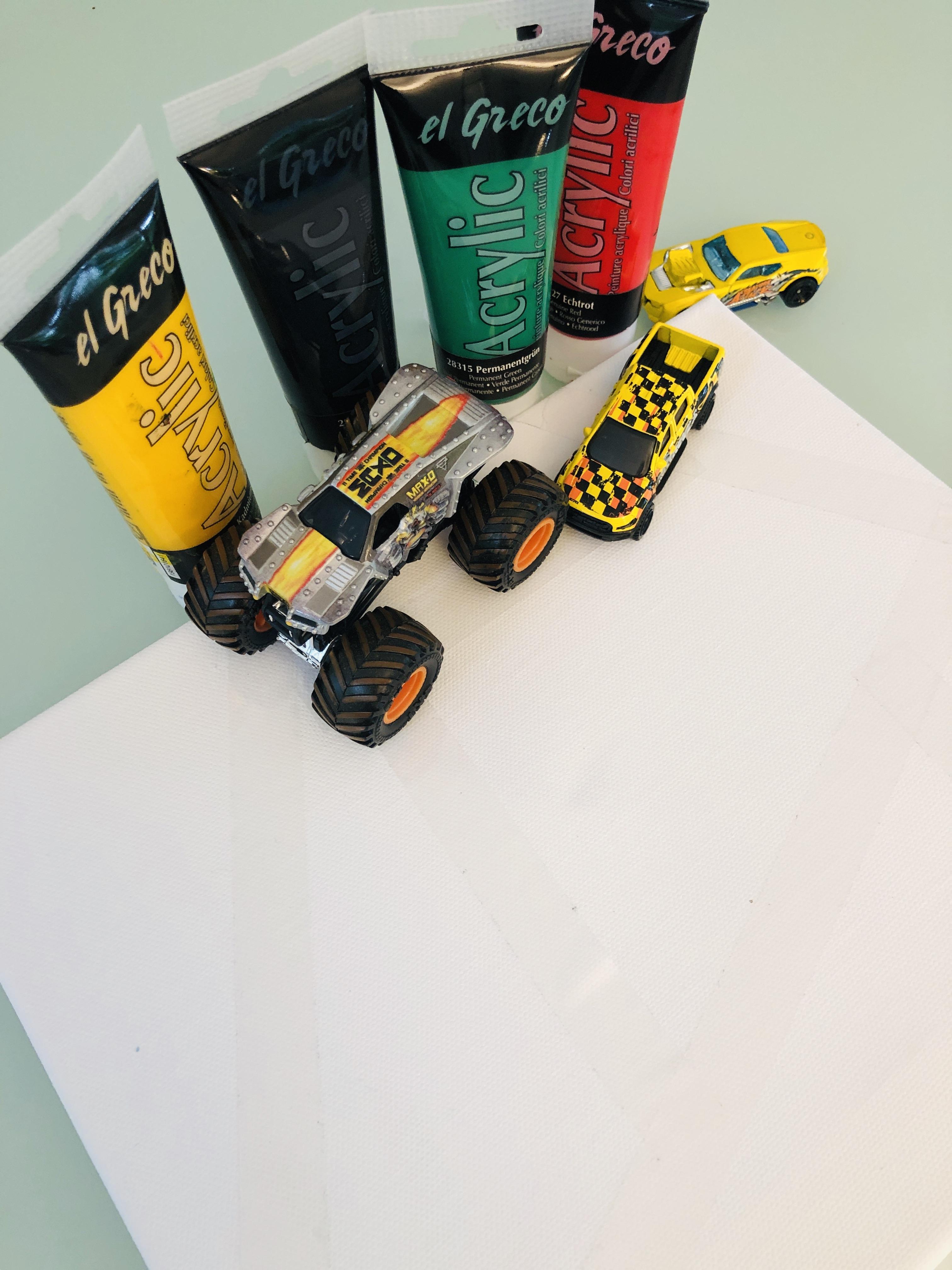 car painting - preparation