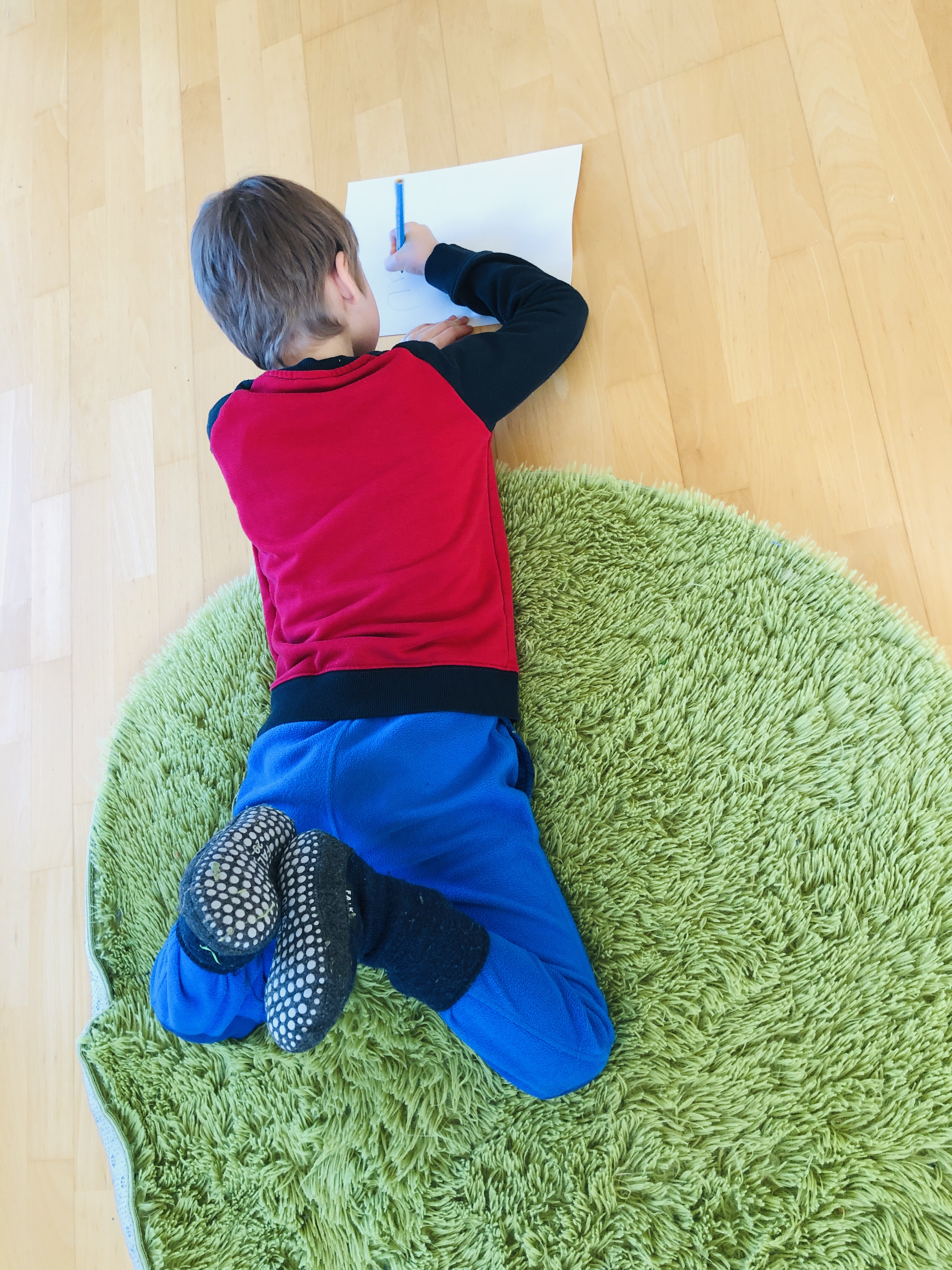 learning on the floor