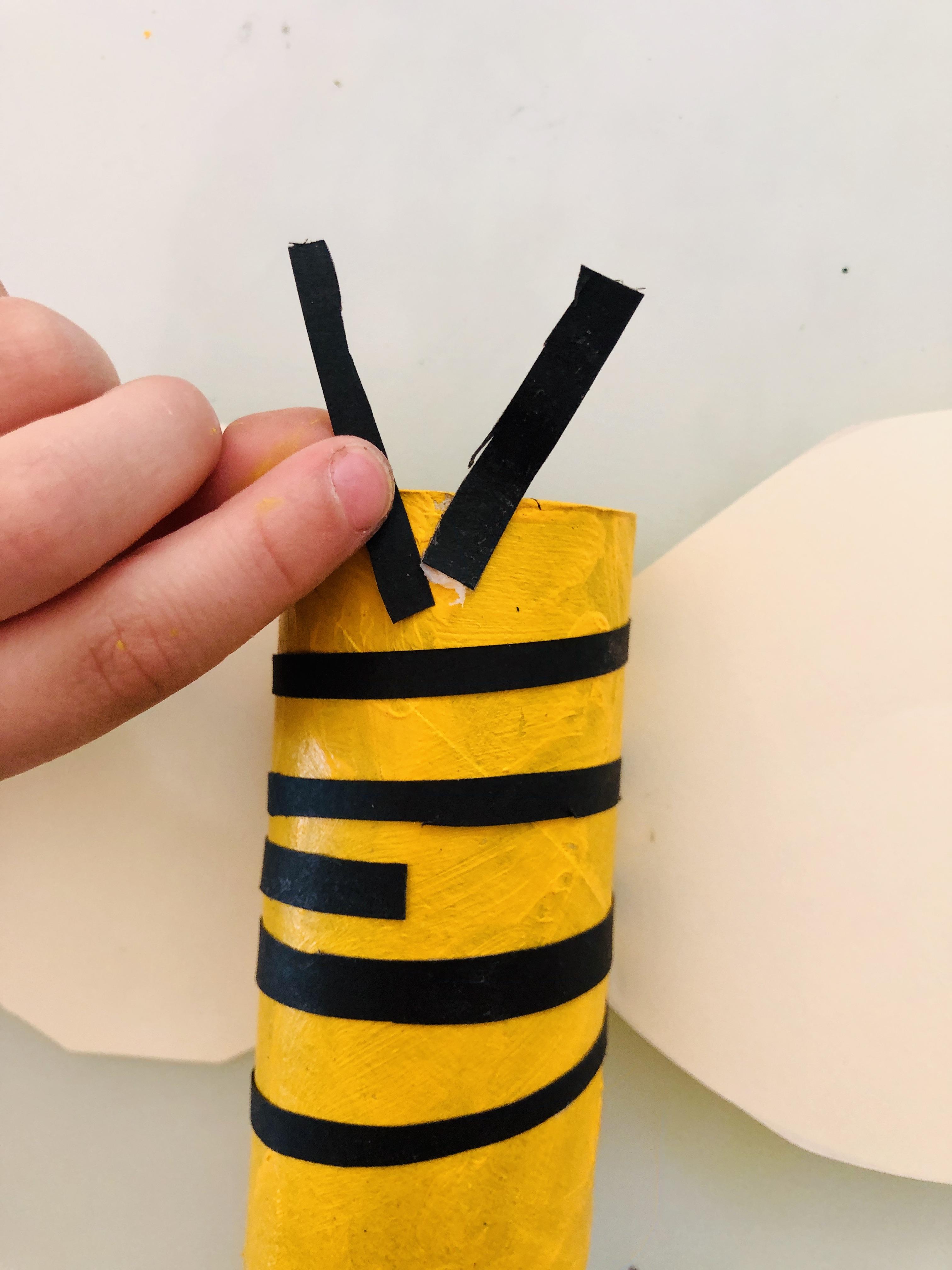 antennas on the bee