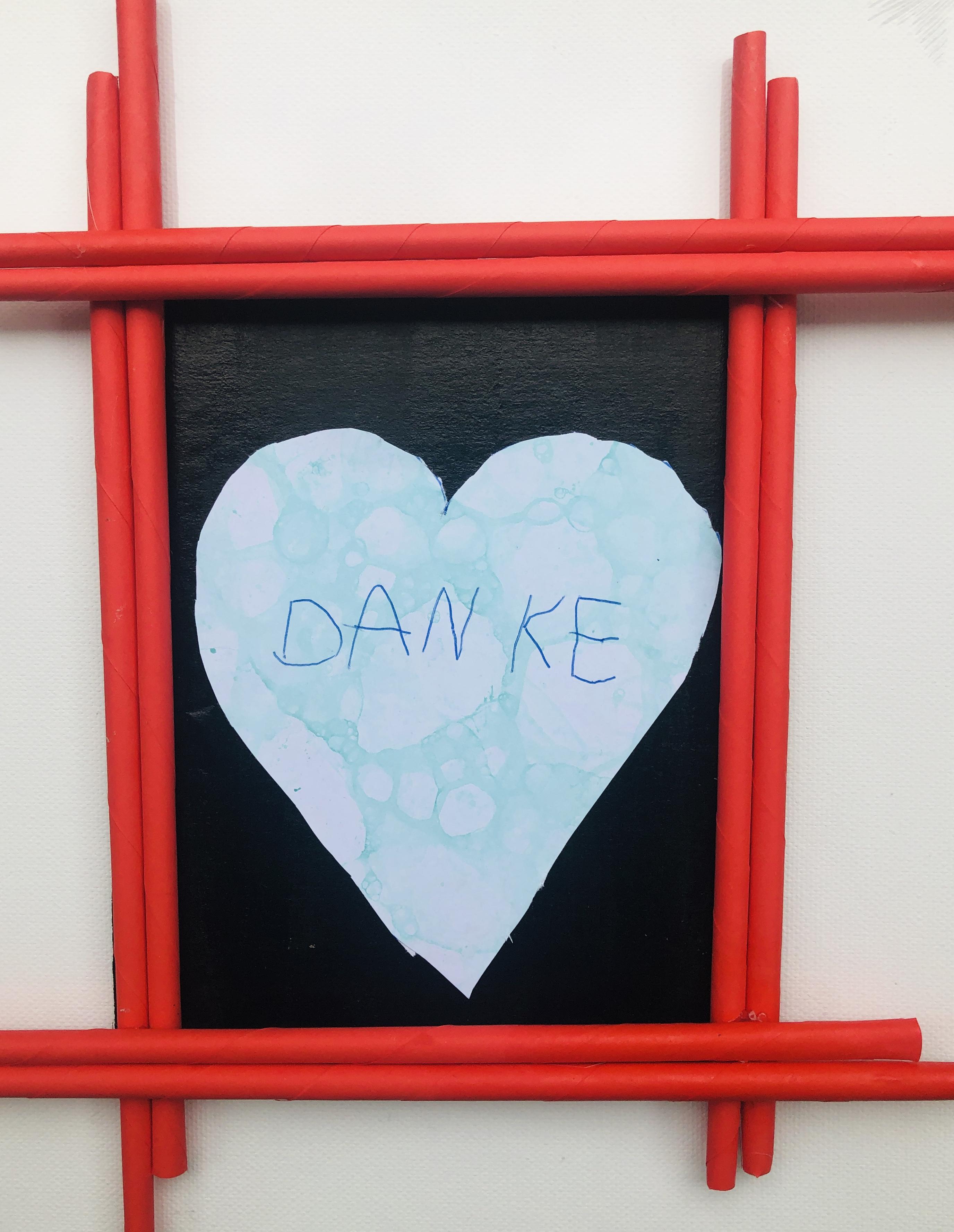 danke card for the teachers