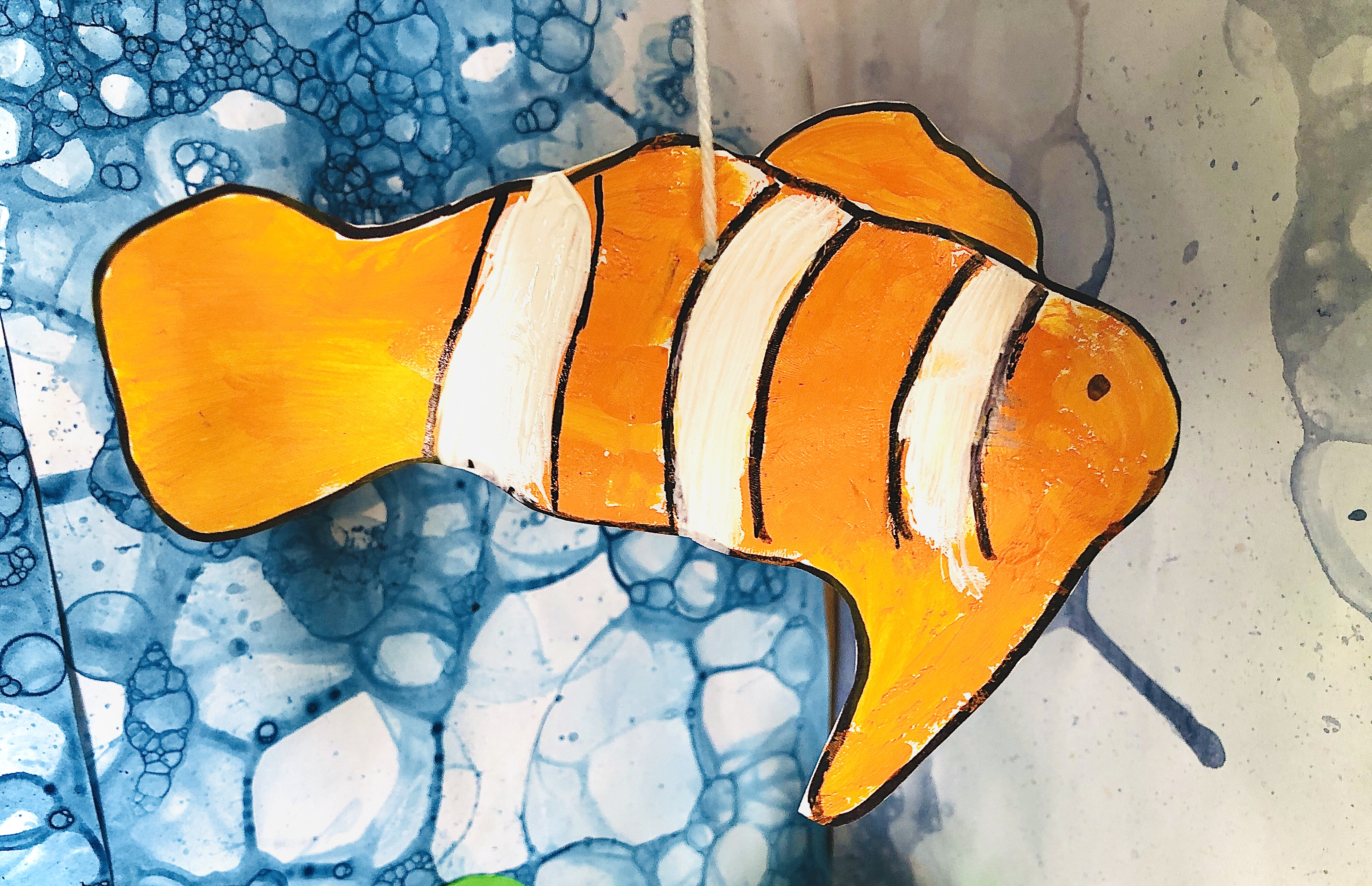 clownfish for a coral reef project