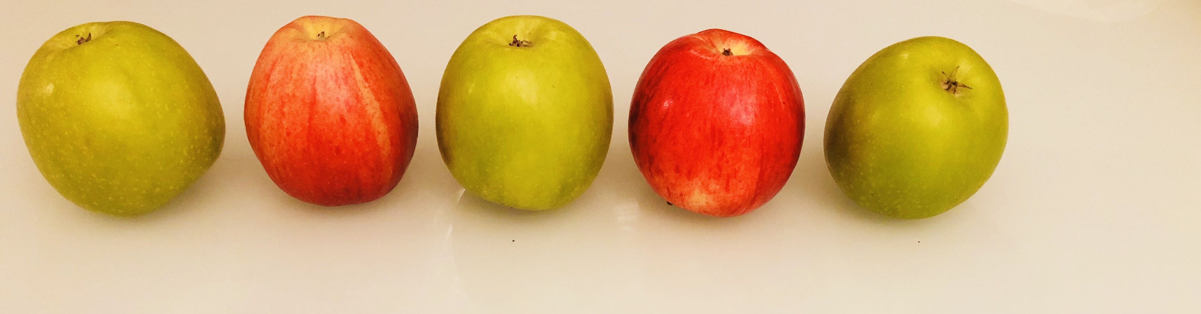 pattern recognition with apples